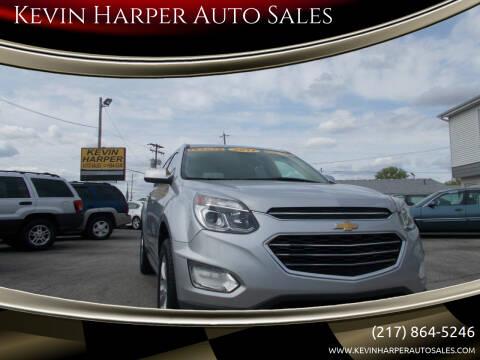 2017 Chevrolet Equinox for sale at Kevin Harper Auto Sales in Mount Zion IL