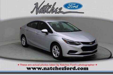 2017 Chevrolet Cruze for sale at Auto Group South - Natchez Ford Lincoln in Natchez MS