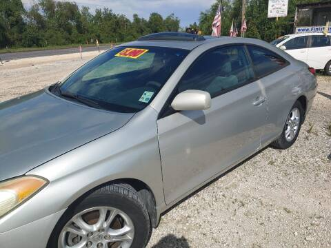 2005 Toyota Camry Solara for sale at Finish Line Auto LLC in Luling LA