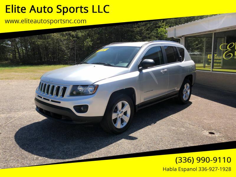 2014 Jeep Compass for sale at Elite Auto Sports LLC in Wilkesboro NC
