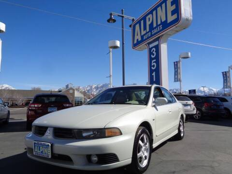 2003 Mitsubishi Galant for sale at Alpine Auto Sales in Salt Lake City UT