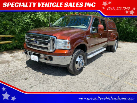 2005 Ford F-350 Super Duty for sale at SPECIALTY VEHICLE SALES INC in Skokie IL
