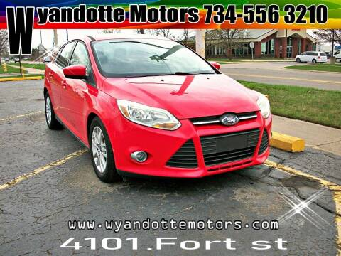 2012 Ford Focus for sale at Wyandotte Motors in Wyandotte MI