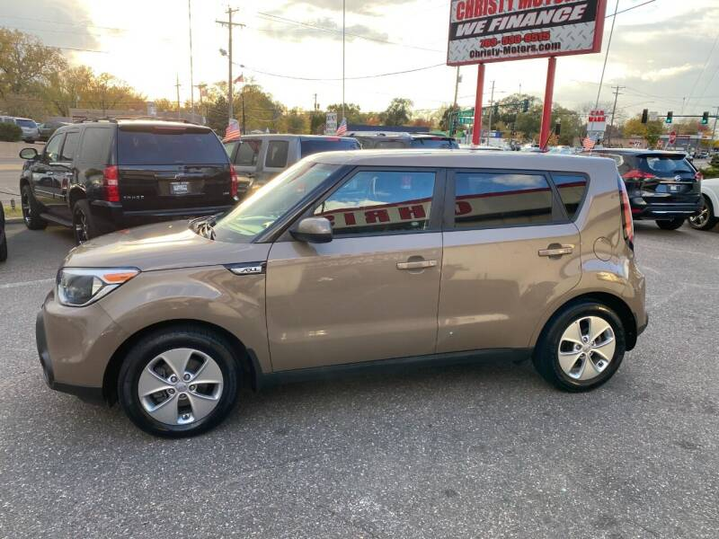 2016 Kia Soul for sale at Christy Motors in Crystal MN