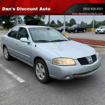 2004 Nissan Sentra for sale at Dan's Discount Auto in Gaston SC