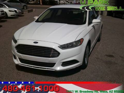 2013 Ford Fusion for sale at UPARK WE SELL AZ in Mesa AZ