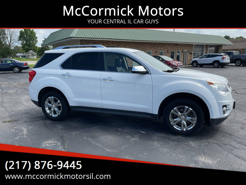 2011 Chevrolet Equinox for sale at McCormick Motors in Decatur IL