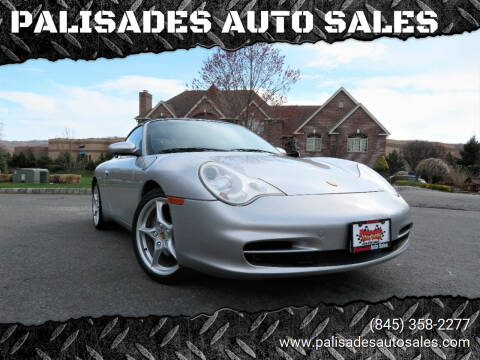 2002 Porsche 911 for sale at PALISADES AUTO SALES in Nyack NY