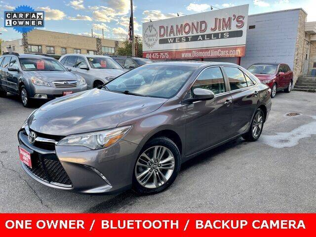 2016 Toyota Camry for sale at Diamond Jim's West Allis in West Allis WI