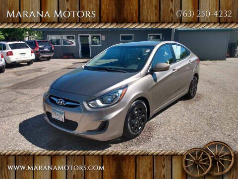 2014 Hyundai Accent for sale at Marana Motors in Princeton MN