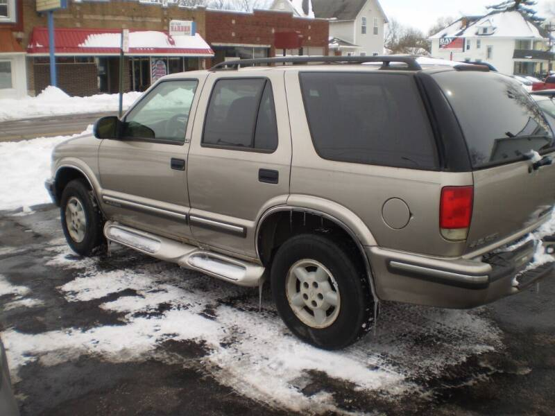 1999 Chevrolet Blazer for sale at Toledo Auto Finance Center in Toledo OH