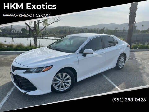 2020 Toyota Camry for sale at HKM Exotics in Corona CA