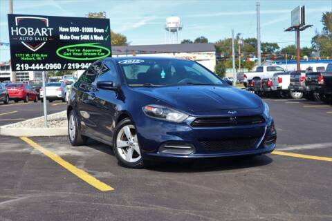 2015 Dodge Dart for sale at Hobart Auto Sales in Hobart IN