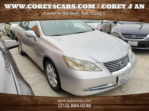 2007 Lexus ES 350 for sale at WWW.COREY4CARS.COM / COREY J AN in Los Angeles CA