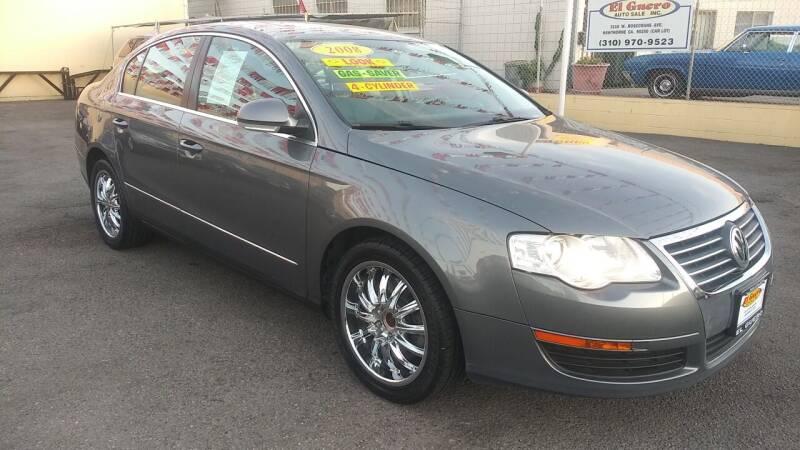 2008 Volkswagen Passat for sale at El Guero Auto Sale in Hawthorne CA