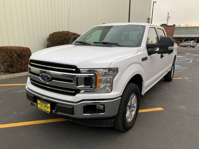 2018 Ford F-150 for sale at DAVENPORT MOTOR COMPANY in Davenport WA