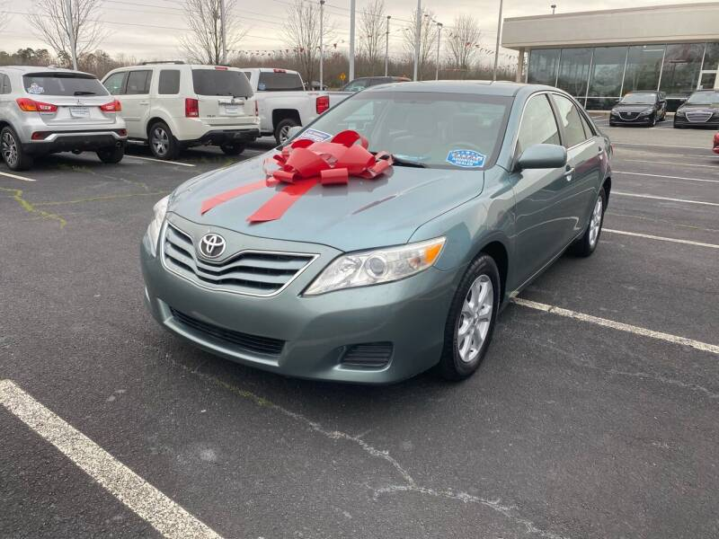 2011 Toyota Camry for sale at Charlotte Auto Group, Inc in Monroe NC