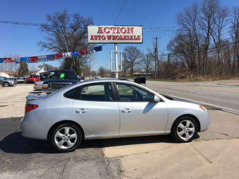 2008 Hyundai Elantra for sale at Action Auto Wholesale in Painesville OH