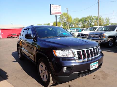 2011 Jeep Grand Cherokee for sale at Marty's Auto Sales in Savage MN