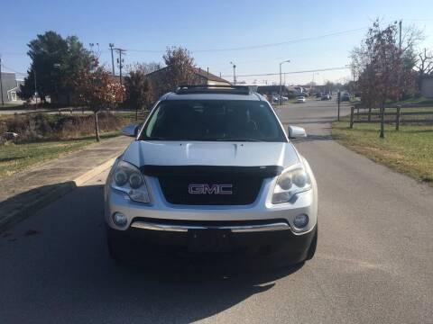 2012 GMC Acadia for sale at Abe's Auto LLC in Lexington KY