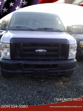 2010 Ford E-350 for sale at 2 Way Auto Sales in Spokane Valley WA