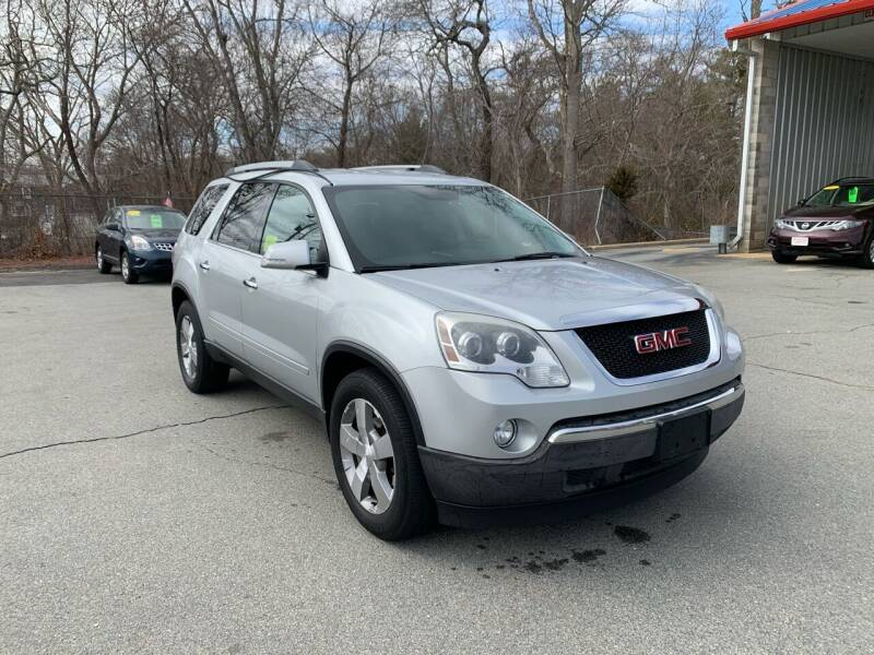 2012 GMC Acadia for sale at Gia Auto Sales in East Wareham MA