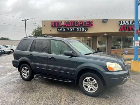 2004 Honda Pilot for sale at NTX Autoplex in Garland TX