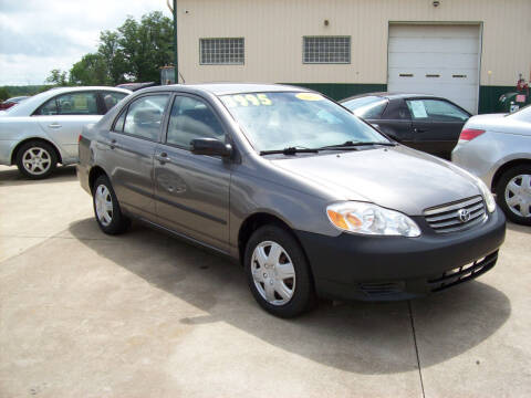 2004 Toyota Corolla for sale at Summit Auto Inc in Waterford PA