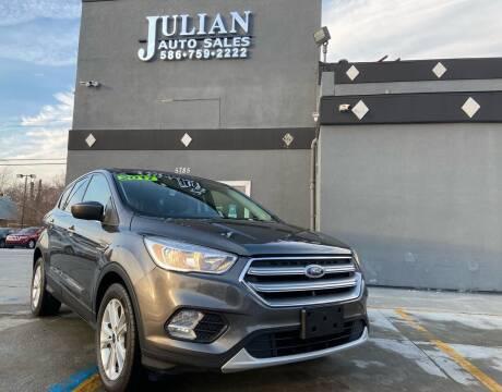 2017 Ford Escape for sale at Julian Auto Sales, Inc. in Warren MI