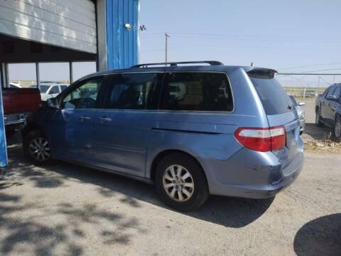 2007 Honda Odyssey for sale at PYRAMID MOTORS - Pueblo Lot in Pueblo CO