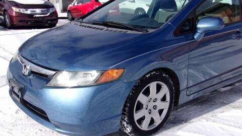 2007 Honda Civic for sale at Eagle's Wings Auto Sales in Hilton NY