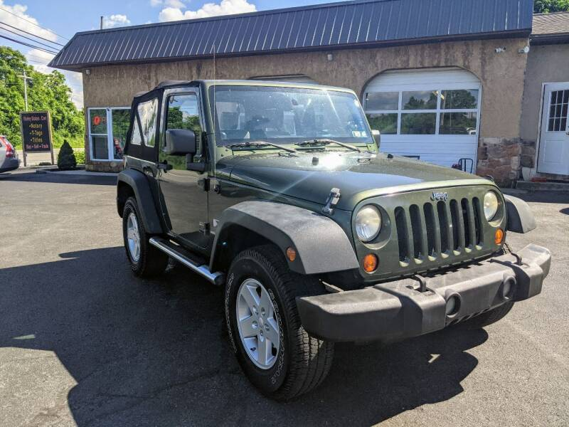 2008 Jeep Wrangler for sale at Worley Motors in Enola PA