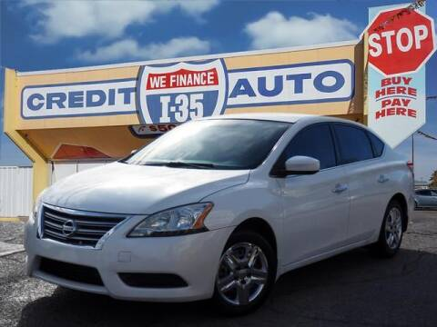 2013 Nissan Sentra for sale at Buy Here Pay Here Lawton.com in Lawton OK