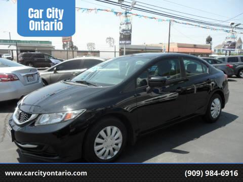 2015 Honda Civic for sale at Car City Ontario in Ontario CA
