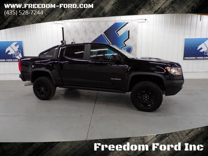 2020 Chevrolet Colorado for sale at Freedom Ford Inc in Gunnison UT
