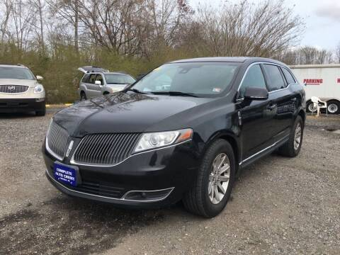2014 Lincoln MKT Town Car for sale at Complete Auto Credit in Moyock NC
