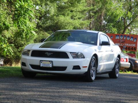 2010 Ford Mustang for sale at Loudoun Used Cars in Leesburg VA