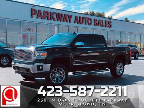 2015 GMC Sierra 1500 for sale at Parkway Auto Sales, Inc. in Morristown TN