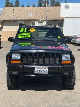 2001 Jeep Cherokee for sale at Victory Auto Sales in Stockton CA