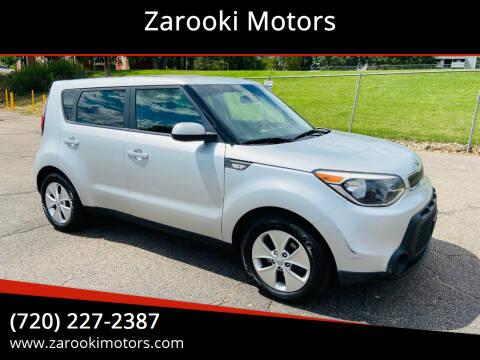 2014 Kia Soul for sale at Zarooki Motors in Englewood CO