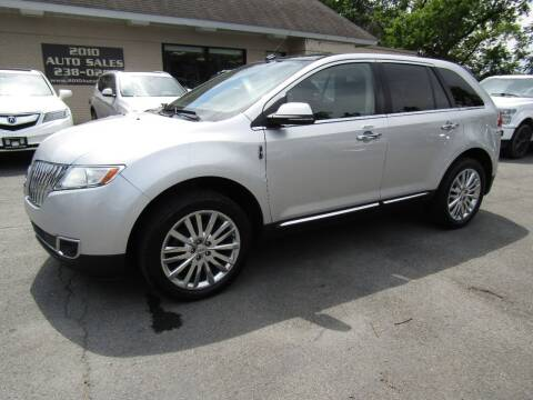 2015 Lincoln MKX for sale at 2010 Auto Sales in Troy NY