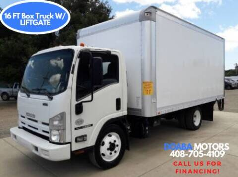 2013 Isuzu NQR for sale at DOABA Motors - Box Truck in San Jose CA