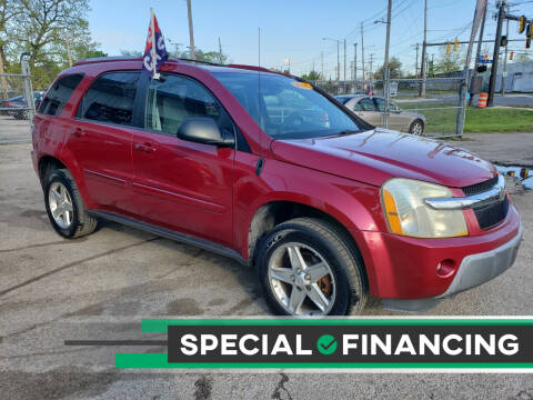 2005 Chevrolet Equinox for sale at R&D Motors LLC in Cleveland OH