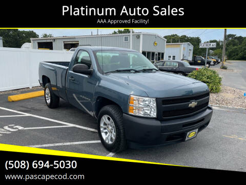 2010 Chevrolet Silverado 1500 for sale at Platinum Auto Sales in South Yarmouth MA