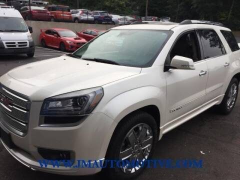 2014 GMC Acadia for sale at J & M Automotive in Naugatuck CT