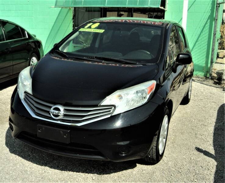 2014 Nissan Versa Note for sale at DESERT AUTO TRADER in Las Vegas NV