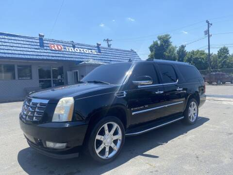 2007 Cadillac Escalade ESV for sale at RD Motors, Inc in Charlotte NC