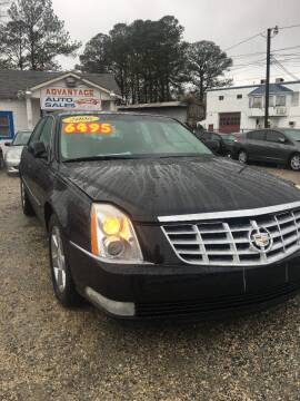 2006 Cadillac DTS for sale at Advantage Motors in Newport News VA