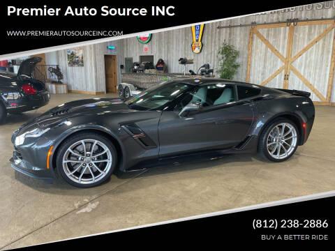 2019 Chevrolet Corvette for sale at Premier Auto Source INC in Terre Haute IN