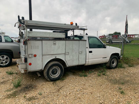 1997 Chevrolet C/K 3500 Series for sale at South Point Auto Sales in Buda TX